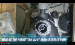 Video: Changing the Non Return Valve