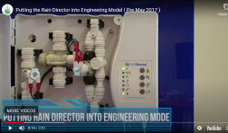 Video: Putting the Rain Director into Engineering Mode