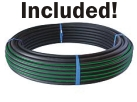 You get 25m of 25mm HDPE pipe with this kit